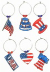 patriotic birthday charms