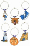 wildcats basketball charms