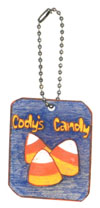personalized candy bag charm
