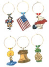 colonial wine charms