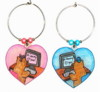 teddy bear computer chat pal charms