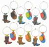 cowboy hats and boots charms