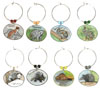 critter wine charms