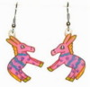 donkey earrings