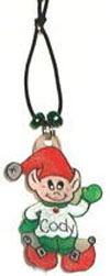 elf waterbottle charm