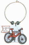bicycle wedding favor charm