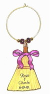 broom wedding favor charm