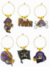Pirates football charms