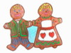 gingerbread people pin