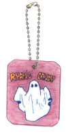 ghost bag charms