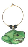 green frog charms