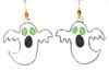 green eyed ghost earrings