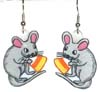 halloween mouse earrings