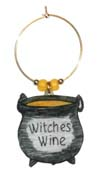 witches wine charm