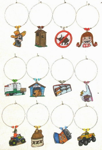 Karen S Wine Charms Listed By Alphabetically