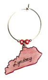 kentucky wine charms
