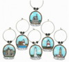 Long Island Light House charms set 1