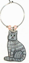 Blue Tabby Maine Coon Cat Charm