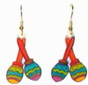 maraca earrings
