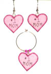 mother's day wine charms