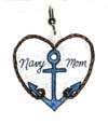 navy mom charms