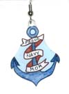proud navy mom charms