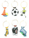 personalized soccer set with team colors and mascot