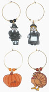 4 thanksgiving charms