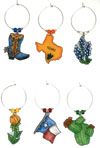 TX charms in BRIGHT Color