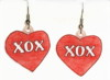 valentine XOX earrings