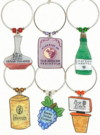 WOMP winery charms