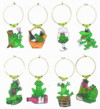 Wineaux frog charms