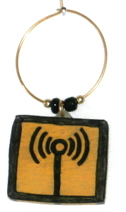 wireless area wine charm