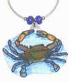 brown-blue crab