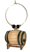 cask wine charms