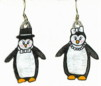 formal penquins - earrings
