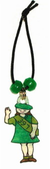 girl scout waterbottle charms