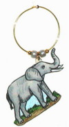 grey elephant charms