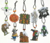 10 Halloween Monsters charm set