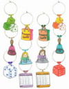 bunko customized charms