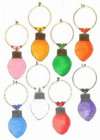 christmas lightbulb charms