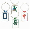 mahjong charms - not personalized