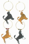 portuguese water dog charms