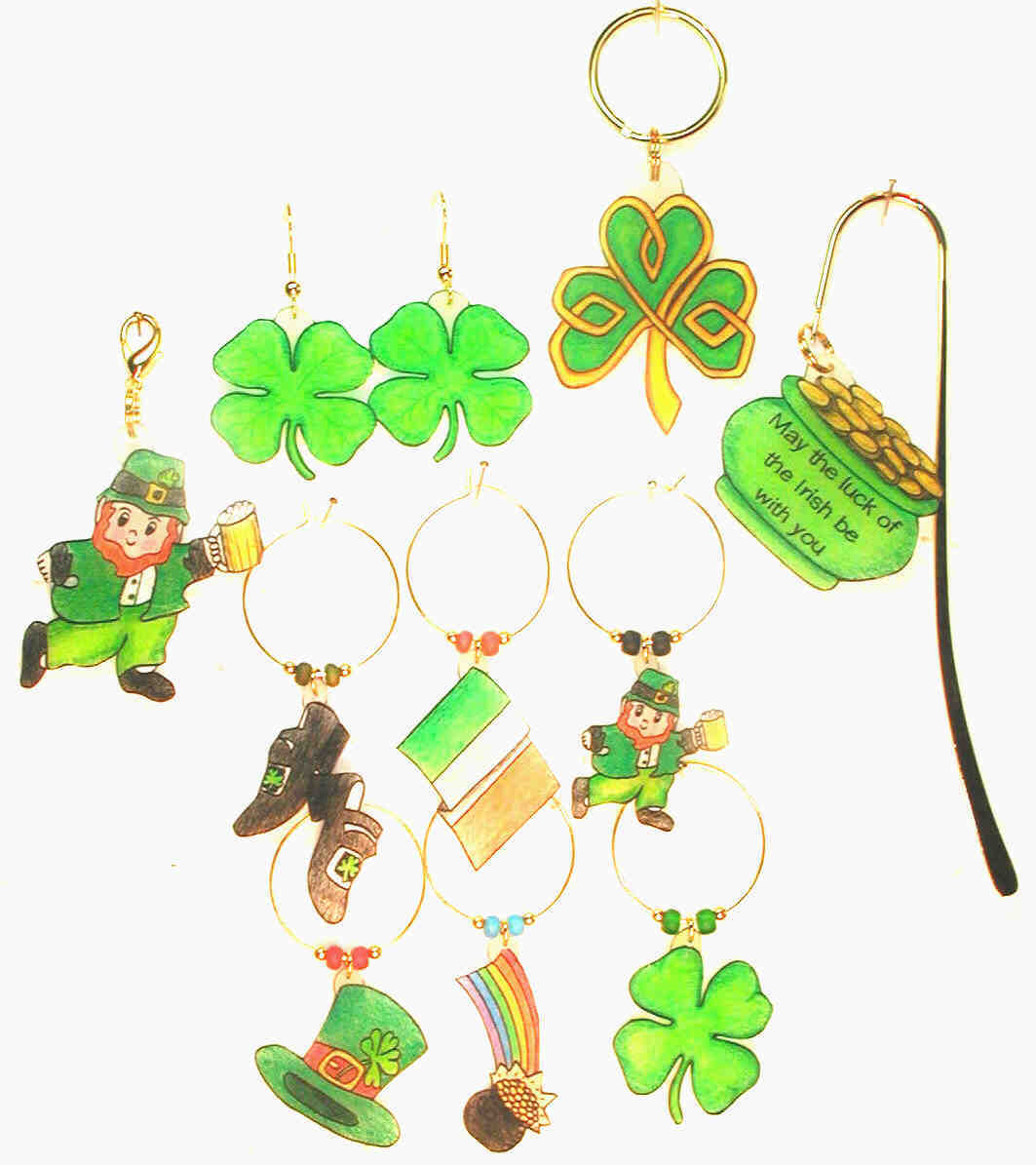 st patricks day charm collection