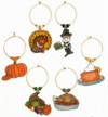 6 thanksgiving charms