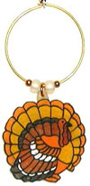 turkey thanksgiving charms